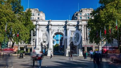 Marble Arch In Central London