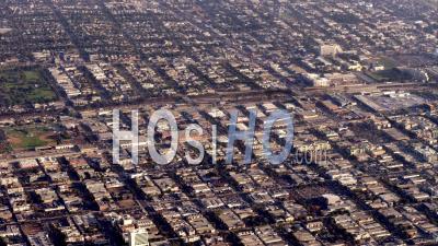 Aerial View View Of Urban Sprawl