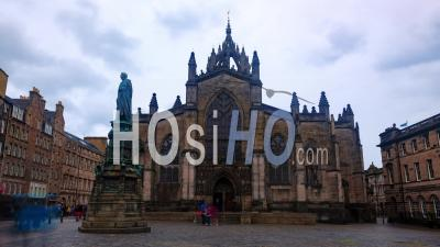 St Giles Cathedral In The Old Town In Edinburgh (scotland)