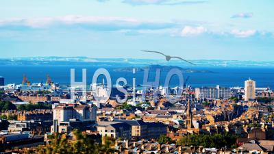 East Edinburgh, Leith And The Firth Of Forth In Scotland
