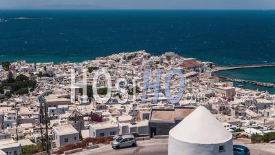Mykonos, Iles Cyclades, Grèce - Vidéo Drone