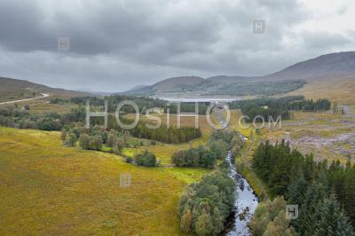 The Northwest Highlands Of Scotland Aerial View - Aerial Photography