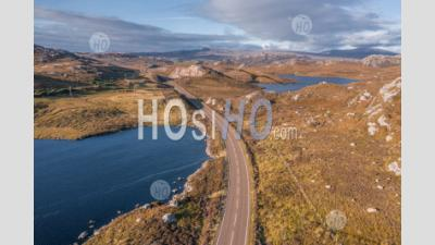 Drone Shoot Over Scenic North Coast 500 Route - Aerial Photography