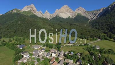 Lus La Jarjatte Ski Resort - Video Drone Footage