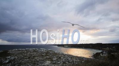 Time Lapse Coastal Sunrise, Gotland, Suède