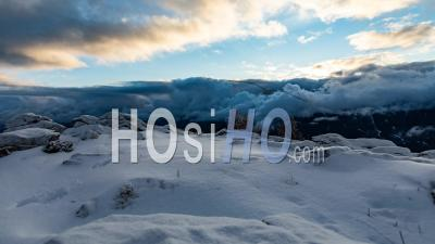 Winter Timelapse In French Alps