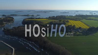 Vannes Conleau Seen By Drone