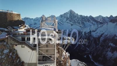 Ski Resort Of Brevent, Chamonix, View By Drone