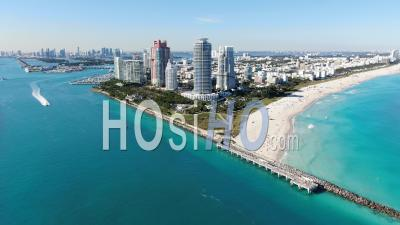 Beautiful Miami Beach/South Beach - Video Drone Footage