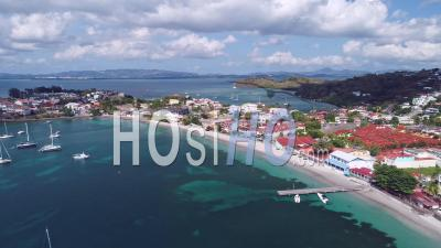 Containment For Covid-19 In Trois-Ilets, Martinique, By Drone