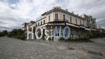 Petralona, Thisio, Confinement Dans Le Centre-Ville D'athènes, Grèce