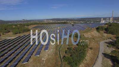 Parc Photovoltaïque - Vidéo Drone