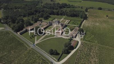 Castle Of Malle, Video Drone Footage