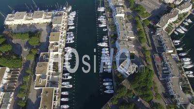 Vue Aérienne De Port-Camargue, Vidéo Drone
