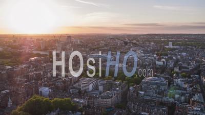 Vue Aérienne De Londres, Royaume-Uni, Marble Arch, Royaume-Uni - Vidéo Par Drone
