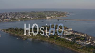 Pen Bron's Architecture Filmed With A 4k Drone, Loire Atlantique, France