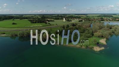 Sainte-Marie-Du-Lac-Nuisement - Vidéo Aérienne Par Drone
