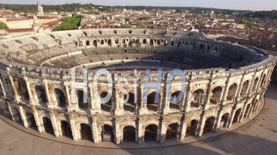 Arènes De Nimes - Vidéo Drone