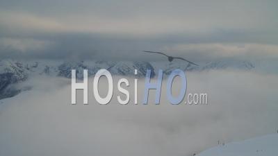 Time Lapse Auron Alpes Maritimes France Sea Of Clouds Mountain