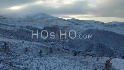 Aerial Establishing Shot Of Cairngorms National Park Ecosse, Royaume-Uni - Video Drone Footage