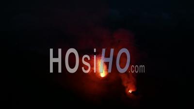 Volcanic Activity Of The Stromboli Volcano, Aeolian Islands, Italia