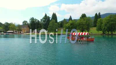 Lake Bled, Slovenia - Video Drone Footage