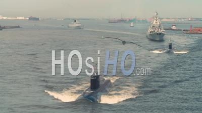 Russian Submarine Dmitriy Donskoi (tk-208) - Video Drone Footage
