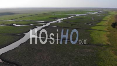 Paysage Du Parc National De Gorongosa Au Mozambique - Vidéos Par Drone
