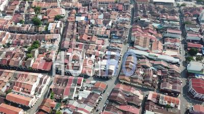 Aerial View Georgetown Heritage House - Video Drone Footage