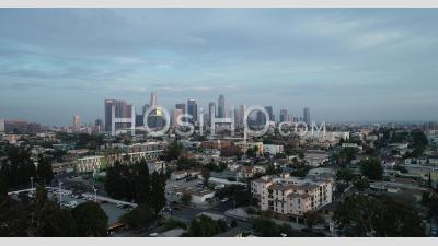 Downtown Los Angeles Cityscape - Vidéo Par Drone