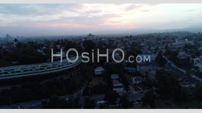 Drone Vue De La à L'aube