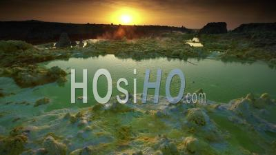Hydrothermal Activity In Dallol, North Of Ethiopia