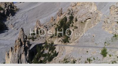 La Casse Deserte, France, Drone Point Of View