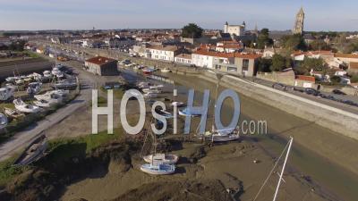 Cimetière De Bateaux De Noirmoutier Vidéo Drone