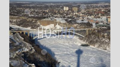 Rainbow Bridge Over The Niagara River