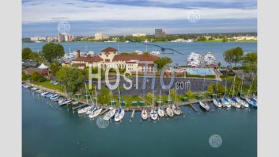 Detroit Yacht Club - Aerial Photography
