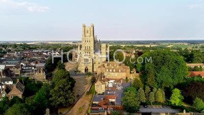 Ely Cathedral Filmed By Drone