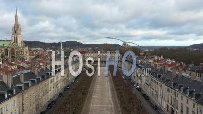 Place De La Carriere - Vieille Ville De Nancy - Vidéo Par Drone