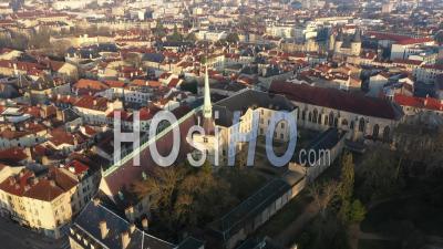 Lorraine Museum - Old Town Nancy - Video Drone Footage
