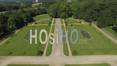 Castle Of La Lorie - Video Drone Footage