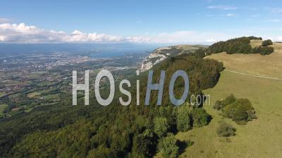 Massif Du Saleve - Haute-Savoie - Vidéo Aérienne Par Drone