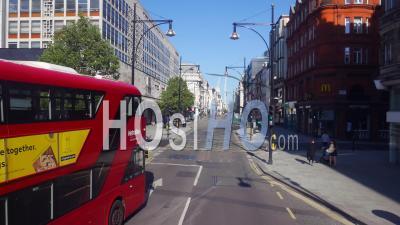 April 2020 Oxford Street London Covid Pandemic .