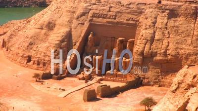 Temple D'abou Simbel Assouan Egypte
