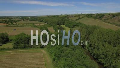 Les Coteaux Du Layon - Video Drone Footage In Spring
