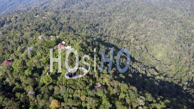 Aerial The Habitat Penang Hill - Video Drone Footage