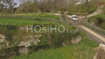 Château De Talmont Saint Hilaire Vidéo Drone Au Printemps