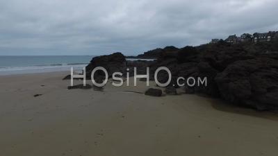 Dinard Beach - Video Drone Footage