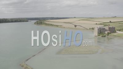 Moulin à Farine Quinard à Saint Jouan Des Guérets, Bretagne, France - Vidéo Par Drone