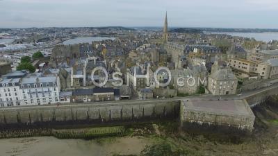 Saint-Malo - Video Drone Footage