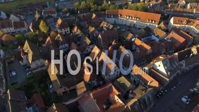 La Ville De Kaysersberg, Alsace, Vidéo Drone